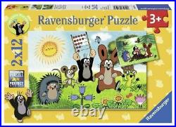 Puzzle Mole Hedgehog Rabbit Learning Count Read Slide Rule Frog Mouse Sun