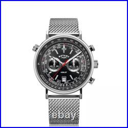 Rotary Gents Henley Chronograph Watch GB05235/04 RRP £199.00 Our Price £158.95