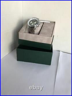 Rotary Mens Chronospeed Chronograph Brown Leather Strap Watch GB03351/19