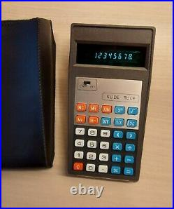 SUPER RARE BMS 818 M SLIDE RULE Scientific Calculator