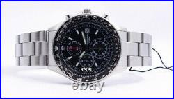 Seiko Flightmaster Pilot Slide Rule Chronograph SND253 SND253P1 Men's Watch