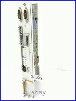 Siemens 6SN1118-0AE11-0AA0 Slide-Rule Control Chart