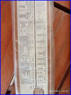 Slide Rule Rechenschieb Faber-Castell 1/87 Brand New, Never Used