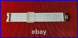 VINTAGE FABER CASTELL NOVO BIPLEX SLIDE RULE 2/83 N Made In Germany BOX