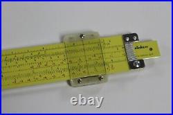 VTG NOS 1960's Pickett 10 Trig Slide Rule withCase, Papework Model N1010 ES