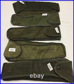 Vietnam Era Military 10549929 Canvas/Nylon Carry Case 8 Howitzer Slide Rule 5x