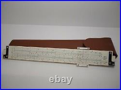 Vintage 1950's Sans Strieffe No. 311 Slide Rule GREAT SHAPE Math Office Display