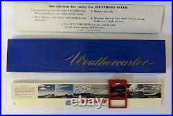Vintage 1960's WEATHERCASTER Slide Rule with EVINRUDE Outboard Motor Advertising