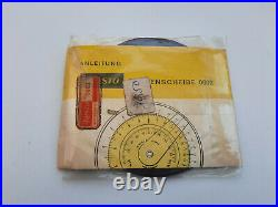Vintage Aristo Nr. 0602 Circular Slide Rule with Case Germany New! NOS! Very Rare