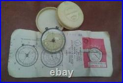 Vintage Circular Slide RULE LOGARITHMIC Soviet Union Russia 1965 made in USSR