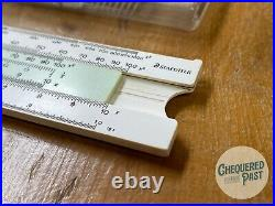 Vintage Near New STAEDTLER Germany Slide Rule No. 54455 In Plastic Case
