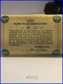 Vintage New in Box Pickett N-200-ES Trig Slide Rule