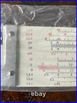 Vintage Sans & Streiffe No. 312 Bamboo Slide Rule NEW