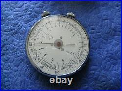 Vintage Soviet circular slide rule KL-1 USSR Calculator Mathematical instrument