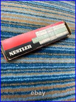 Vintage slide rule ALBERT NESTLER BADEN BADEN WINFRIED BAUER See origin
