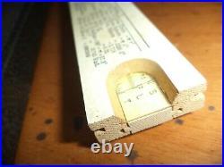 Vtg 1940's KUEFFEL & ESSER Co. BEGINNERS Architect SLIDE RULE withfactory case