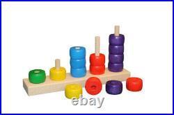Zählleiste 22,5 x 12 X 5 CM New Slide Rule Abacus Math